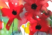 14-050 - Poppies - SOLD