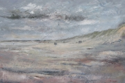14-056 - Kite Surfing at Old Hunstanton - £240 - Oil on Canvas 72x55cm
